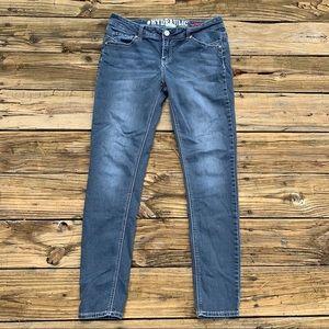 Hydraulic | Dark Wash Skinny Jean Bling Size 15/16